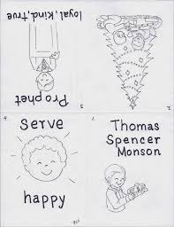 thomas s monson coloring page free coloring pages