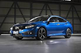 honda civic 2016 sedan 2016 honda civic sedan priced from au 22 390 debuts 1 5 turbo