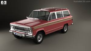 jeep wagoneer 360 view of jeep wagoneer 1978 3d model hum3d store