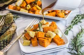 Root Vegetables Roasted - cider glazed roasted root vegetables the scrumptious pumpkin