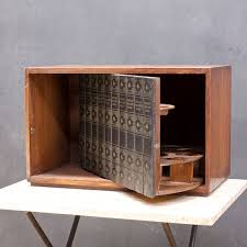 Japanese Bar Cabinet Prohibition Hidden Liquor Cabinet Mid Century By Brainwashington