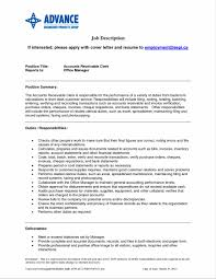cover letter for accounting manager position sample accounts receivable resume sample resume123