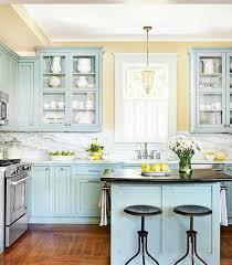 meuble cuisine bleu couleur peinture cuisine 66 idées fantastiques peinture meuble