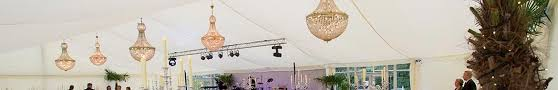 Marquee Chandeliers Marquee Lighting Hire Key Structures Ltd