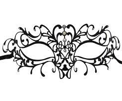 filigree swirl masquerade mask