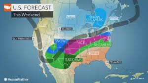 Long duration ice storm to engulf Texas to Ohio this weekend     Strange Sounds