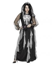 Skeleton Bride Costume Size Xl Oversized Halloween Costumes