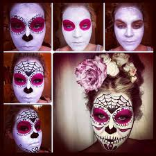 a quick easy tutorial on how to do a sugar skull face paint from stephanie