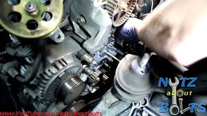 1998 2002 honda accord timing belt replacement with water pump