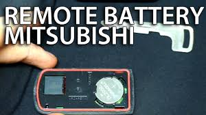 nissan key fob battery how to replace battery in mitsubishi key fob remote lancer