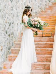 the bohemian puerto vallarta wedding strapless wedding dresses