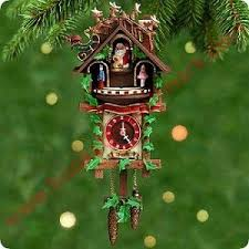 2000 time for cuckoo clock hallmark ornament at hooked on