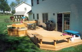 Simple Backyard Patio Ideas Backyard Decks Designs Exciting Backyard Decking Designs And Also