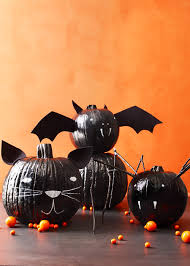 halloween paintings ideas 60 pumpkin designs we love for 2017 pumpkin decorating ideas