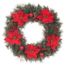 home depot decorations christmas wakefield manor christmas wreaths u0026 garland christmas