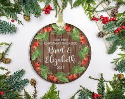 engagement christmas etsy