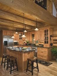 log home kitchen ideas best 25 log cabin kitchens ideas on log cabin siding