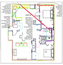please review the piping plan for basement remodel terry love