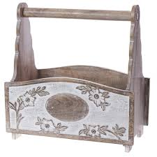 wooden folding magazine rack collections vintage ivory