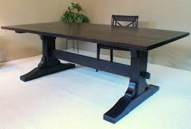 trestle 72 reclaimed wood rectangular dining table black trestle dining room table best gallery of tables furniture