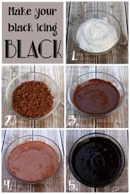 lilaloa back to cookies how to make black royal icing