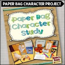 paper bag book report template paper bag character study book report by runde s room tpt