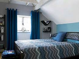 Stunning Black And Blue Bedroom Designs Photos Home Decorating - Blue and black bedroom designs