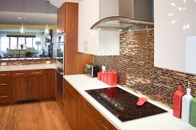 custom cherry countertop in a kitchen designed by gordon blau of