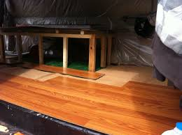 Click To Click Laminate Flooring How To Install Click Flooring In A Van Down By The River