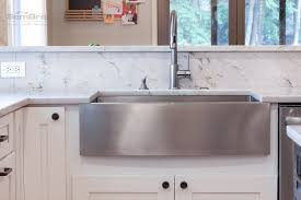 Kitchen Cabinets Ohio Ice White Shaker With Downtown Dark Cabinets In Dublin Ohio