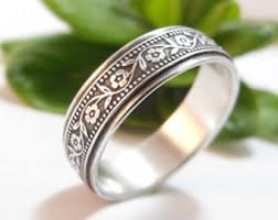 Etsy Wedding Rings by Floral Wedding Ring Etsy