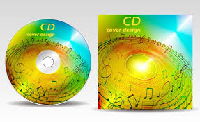 design cd cover floral of cd cover design elements 03 vector cover free