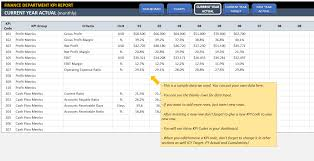 Free Kpi Dashboard Excel Template Guide To Company Kpis Exles Kpi Dashboard Templates