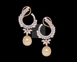diamond earrings diamond earrings designer diamond front back bali earrings