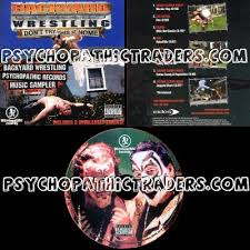 Backyard Wrestling Soundtrack Audio Releases U0026 Values Psychopathic Records Compliations