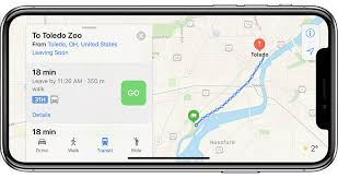 apple maps apple maps now widely supports transit navigation in ohio maryland