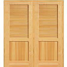 home depot louvered doors interior wood 1 panel doors interior closet doors the home