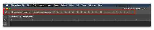 adobe photoshop resetting defaults on the options bar and beyond