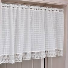 Kitchen Curtains Valance by Online Get Cheap Plaid Kitchen Curtains Aliexpress Com Alibaba