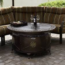Fire Pit With Glass by Top 15 Types Of Propane Patio Fire Pits With Table Buying Guide