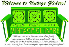 Glider Patio Furniture How To Refinish Your Own Old Metal Glider And Old Metal Glider