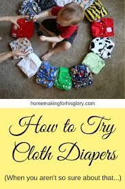 Cloth Diaper Starter Kit How To Try Cloth Diapers When You Aren U0027t So Sure About That