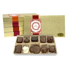 thanksgiving chocolates 10 pc thanksgiving gift box assorted chocolates