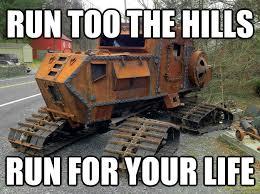 Tractor Meme - chucks tractor memes quickmeme