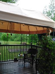 Patio Canopies And Gazebos by Pacific Casual Oval Dome Gazebo Replacement Canopy Garden Winds