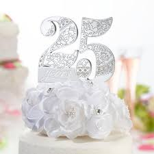 25th anniversary cake toppers 25th anniversary cake topper target