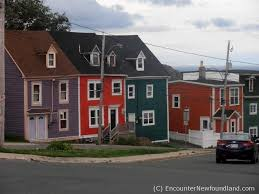 jellybean row the color of st john u0027s encounter newfoundland