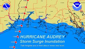 National Weather Forecast Map Hurricane Audrey National Weather Service Lake Charles La