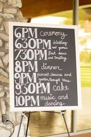 Wedding Program Chalkboard Chalkboard Wedding Program 23x35 Rustic By Chalkfulloflove