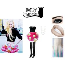 Size Kitty Halloween Costume Diy Avril Lavigne Kitty Costume Polyvore